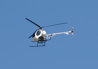 Garden Poster Helicopter Small helicopter