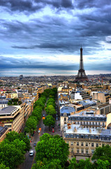 HDR view on Paris