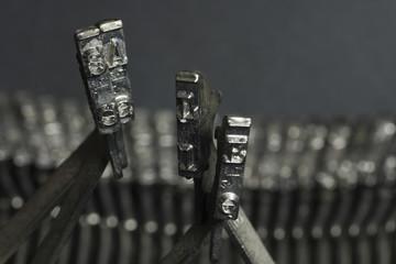 Typewriter character SALE