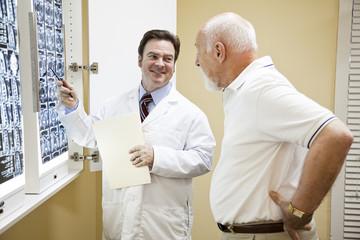 Doctor Exlplains Test Results