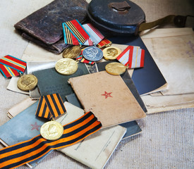 Old army documents
