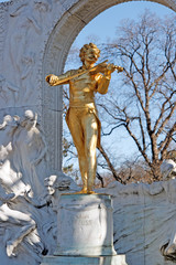 Wien / Vienna / Johann Strauss Denkmal