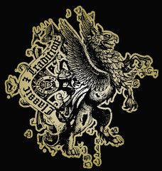 classic royal eagle emblem