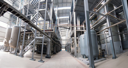 Industrial Workshop Panoramic