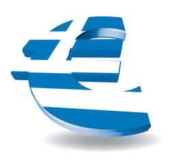 Greece Euro Symbol