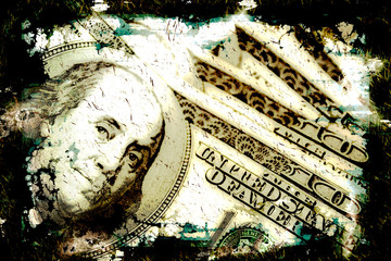 Grungy Money Background