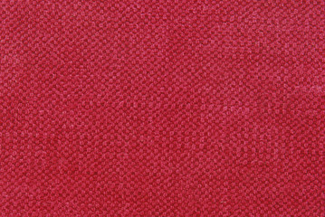 red fabric texture