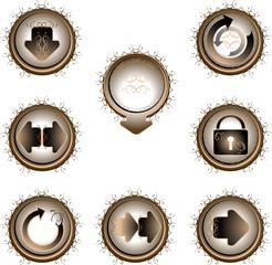 original buttons patterned 4