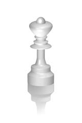 Schachfigur Dame 3D