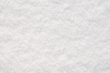 Snow close-up texture