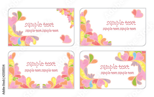 Cute Business Cards Stock Image And Royalty Free Vector Files On