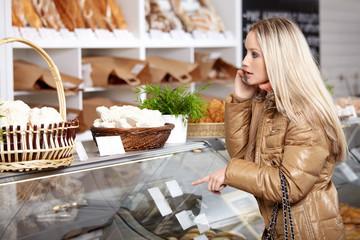 In a bakery