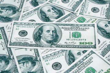 background of American money.