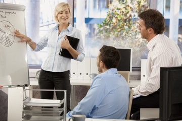 Business people teamworking at office