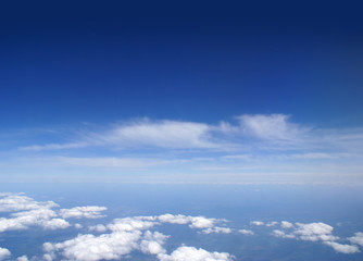Image of a deep blue sky