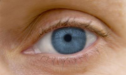 mirada azul