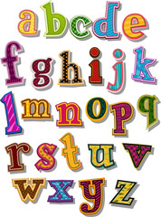 The Alphabet - Small Letters