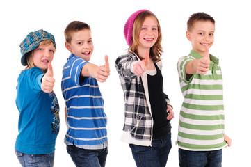 Kids positiv