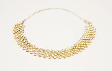 Elegant vintage diamonds necklace.