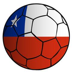 Balón Bandera Selección Chile