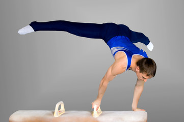 Photo sur Plexiglas Gymnastique gymnast