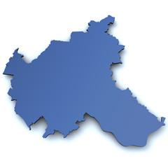 Karte von Hamburg