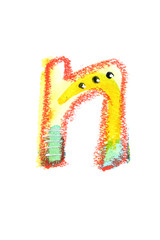アルファベット小文字n