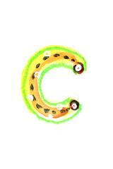 アルファベット小文字c
