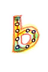 アルファベット小文字b
