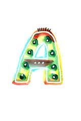 アルファベット大文字A
