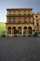 Colonial Havana building facade