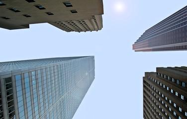 Immeubles du centre financier de Toronto