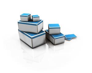 Livraison Packaging 3D business e-commerce