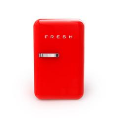 Kühlschrank Retro Frontal (mit Freistellungspfad)