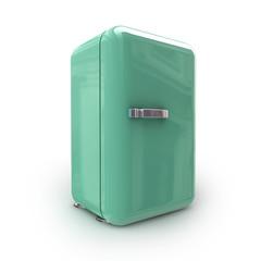Kühlschrank Retro (mit Freistellungspfad)