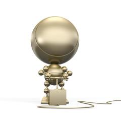 Gold robot push detonator