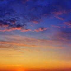 Fototapete - beautiful sunset