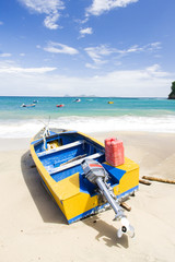 fishing boat; Sauteurs Bay; Grenada