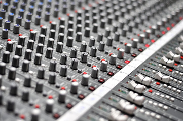 Pro audio mixing pult