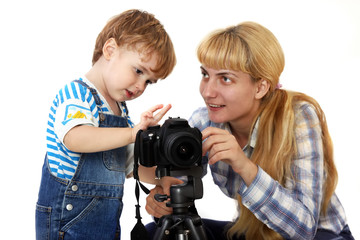 Photography lessons for children and adults
