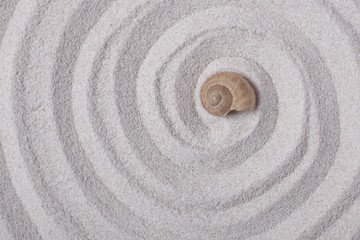 Aluminium Prints Spiral Schneckenhaus Spirale