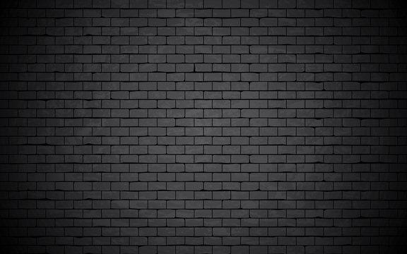Grunge and damaged bricked wall background.