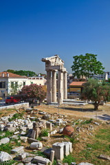 Ruins in Plaka area, Athens