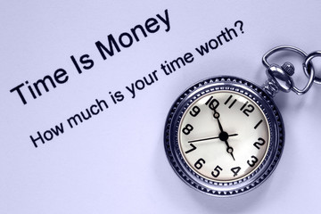 Time is Money and Pockiet Watch