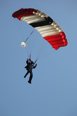 Sky Diver Landing