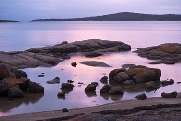 Twilight at Freycinet National Park, Tasmania