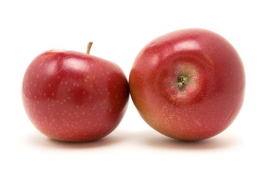 Red macintosh apple
