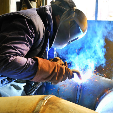 welding with mig-mag method.