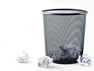 Office paper bin