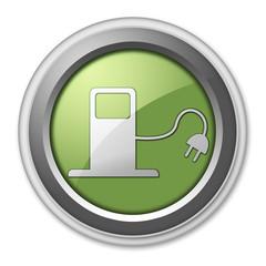"3D Style Button ""Alternative Power / Fuel"""